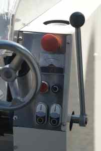 Siliconenwals HW-30 bedieningspaneel rechts