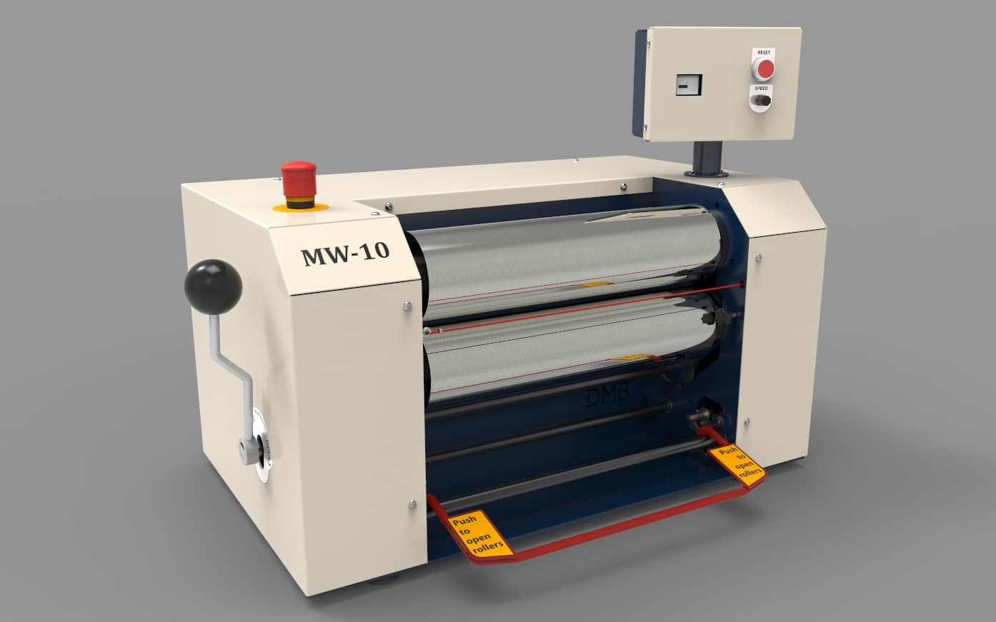 Dijatec siliconenwals mw10 standaard