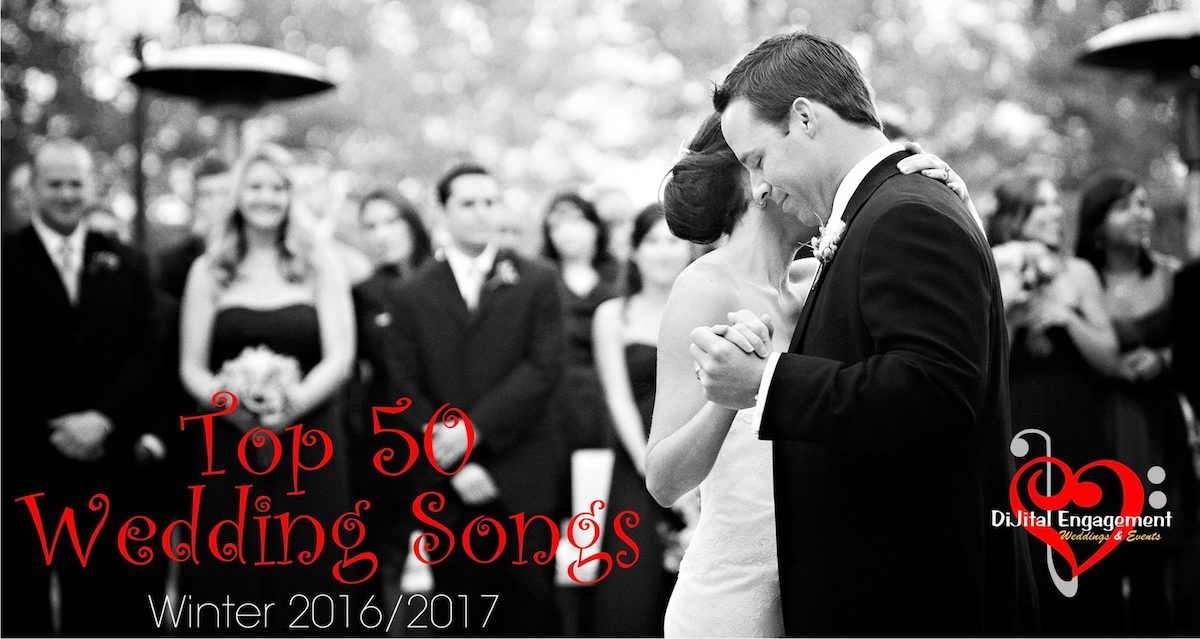 Most Requested Wedding Songs 2017