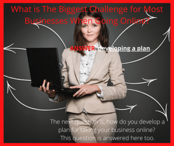 The Biggest Challenge for Most Businesses When Going Online