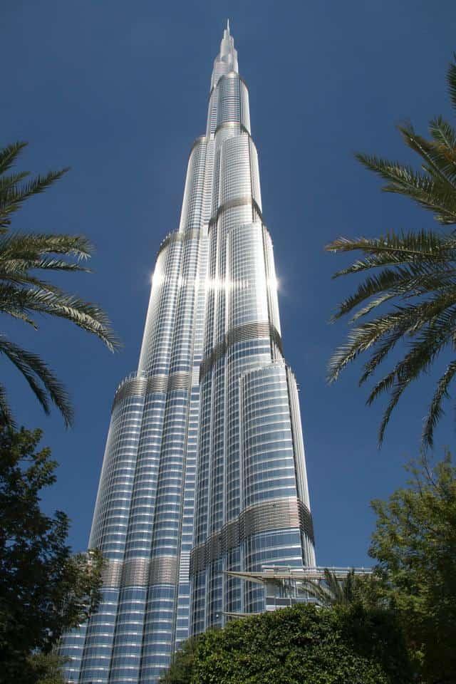 Burj Khalifa, Dubai, UAE: one of the tallest buildings in the world