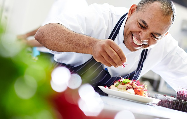 A chef preparing food - Side Hustle to Make Money from Home