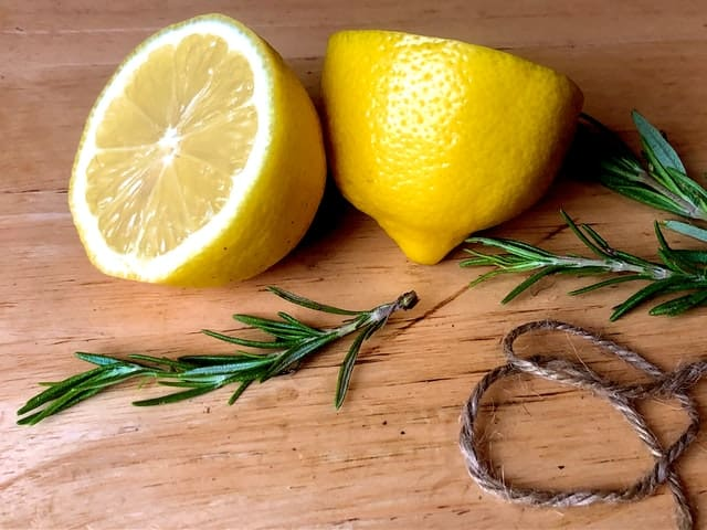 Lemon fruit cut into two equal parts - Coffee and Lemon for Weight Loss