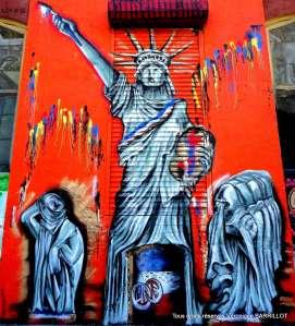 Dijon sur les murs de New-York