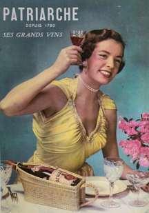 Affiche publicitaire des années 1950, alors que mai 68 n'est pas encore passé par là et que l'image de la femme est encore très XIXe siècle. © CB