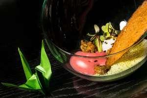 Recette: oeufs meurette et escargots en tempura