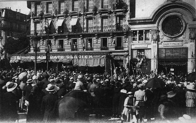 Dijon darcy palace le cin centenaire for Le miroir dijon