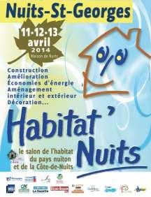 Affiche Habitat Nuits 2014
