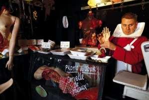 Sondage: la «boucherie humaine», de l'art ou du cochon?