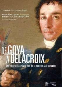 Autun: Goya et Delacroix chez les Guillemardet