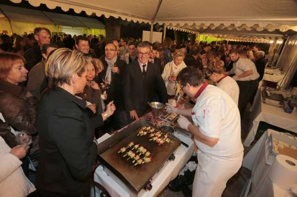 Show gourmand des restaurateurs de france_arquebuse édition 2013