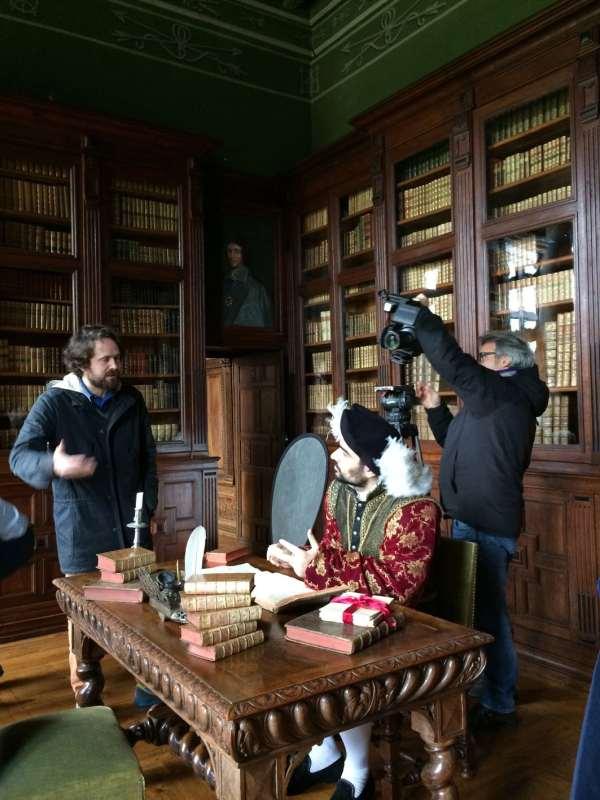 François 1er bibliotheque Chateau d'Ancy le Franc bis