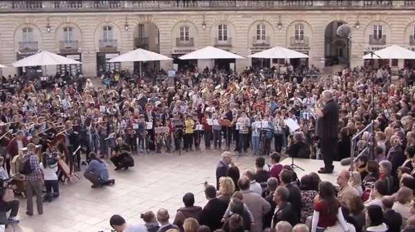 Flashmob à Dijon