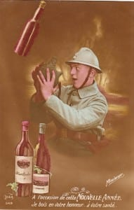 8- CP - Nouvelle année 1915