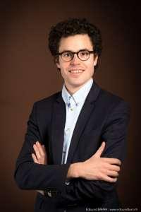 Arthur Deballon, 26 ans, président des communicants de Bourgogne