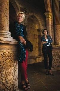 Pascale Lambert et Marie-Claire Bonnet-Vallet - Photo de Clément Bonvalot
