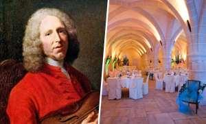 À la table de Jean-Philippe Rameau au Cellier de Clairvaux
