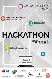 Hackathon dans les locaux de Dijon Métropole