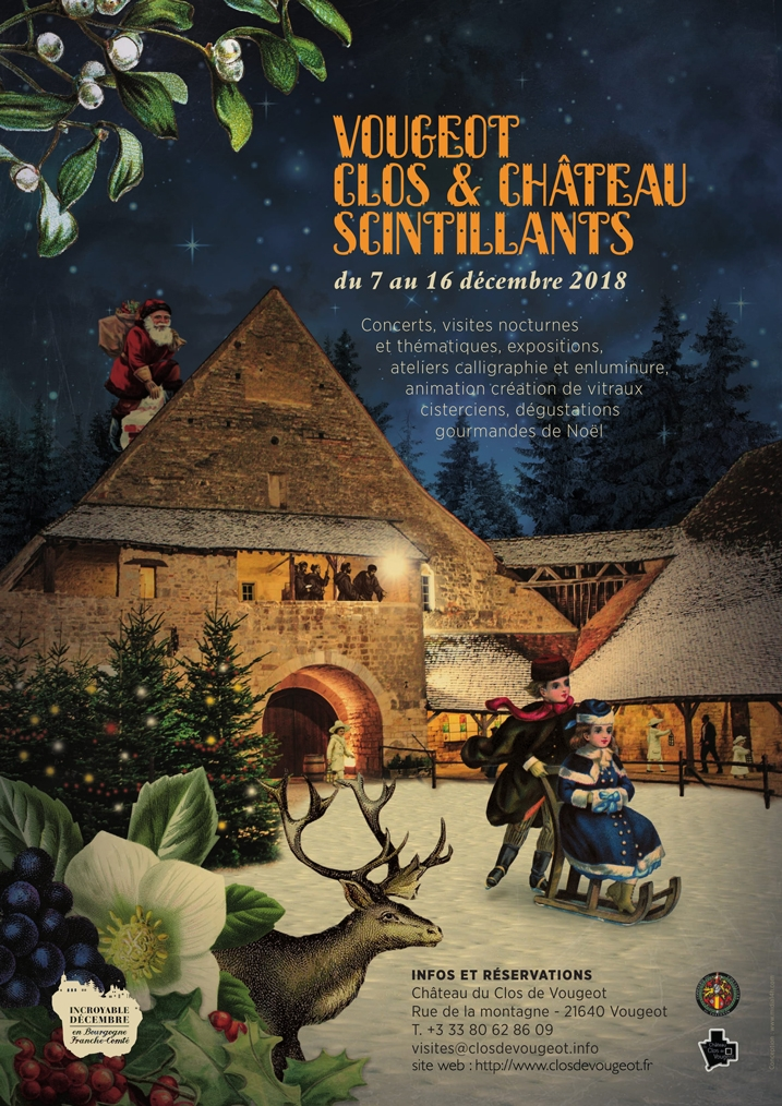 Magie de Noël au Clos de Vougeot