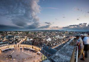 Dégustation sur la tour Philippe le Bon : Marsannay tout en haut de Dijon
