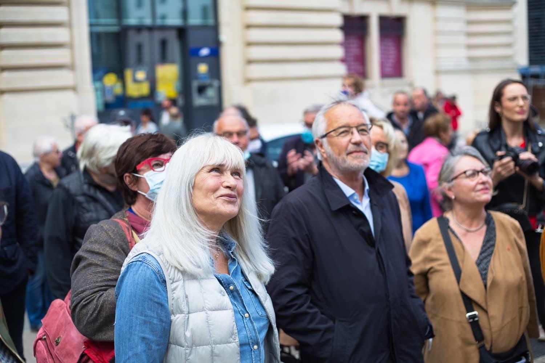 Gloria Friedmann et François Rebsamen