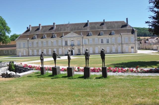 Aile ouest de l'abbaye d'Auberive