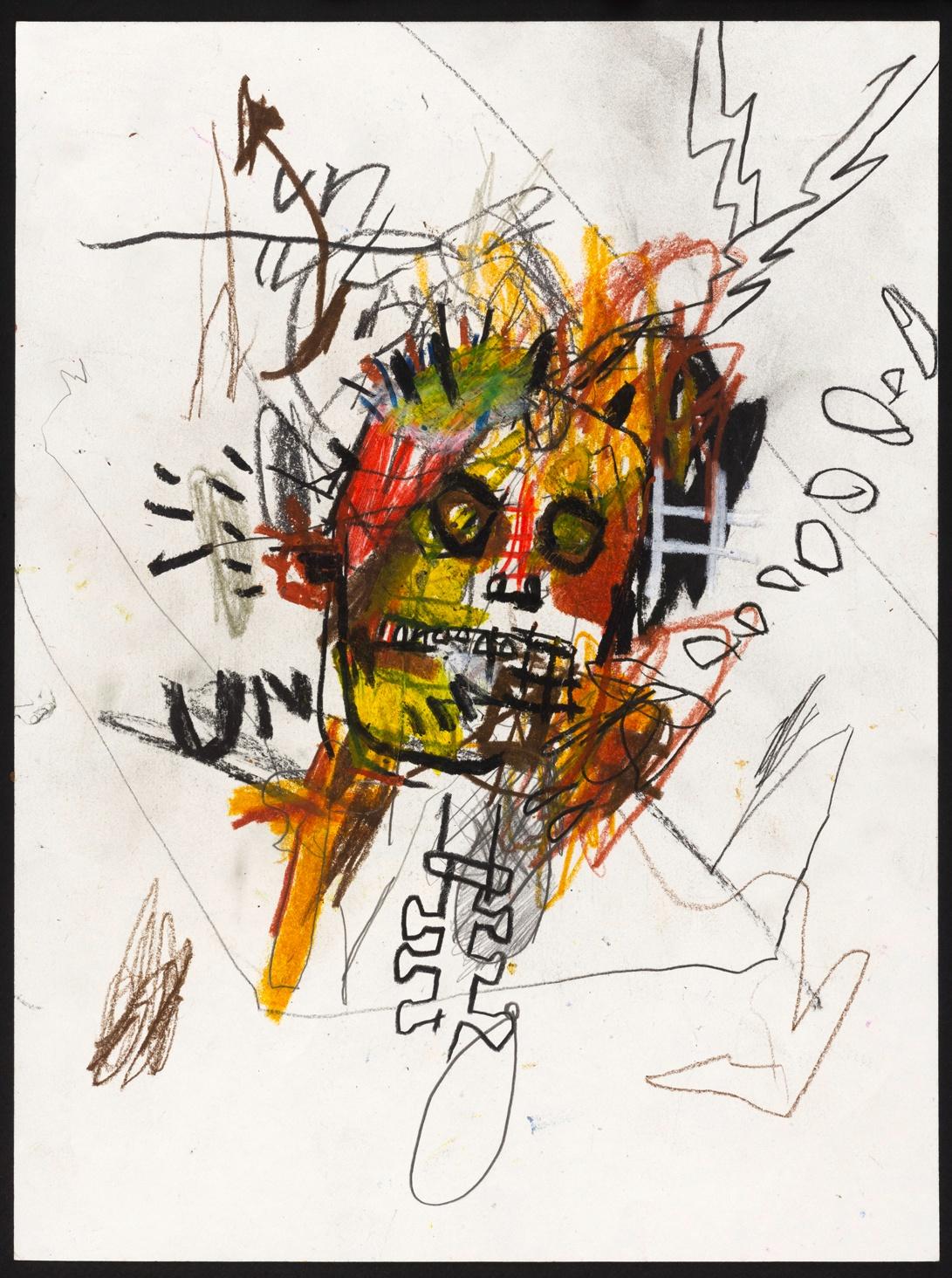 Dessin sans titre de Jean-Michel Basquiat