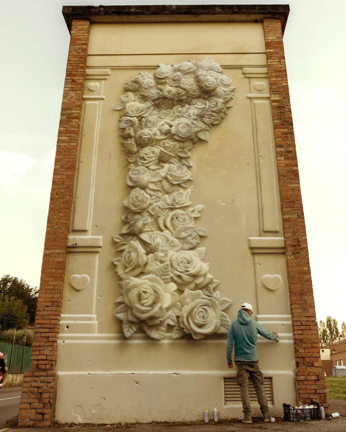 Eron, Tower to the People, Romagna, Rimini, 2018