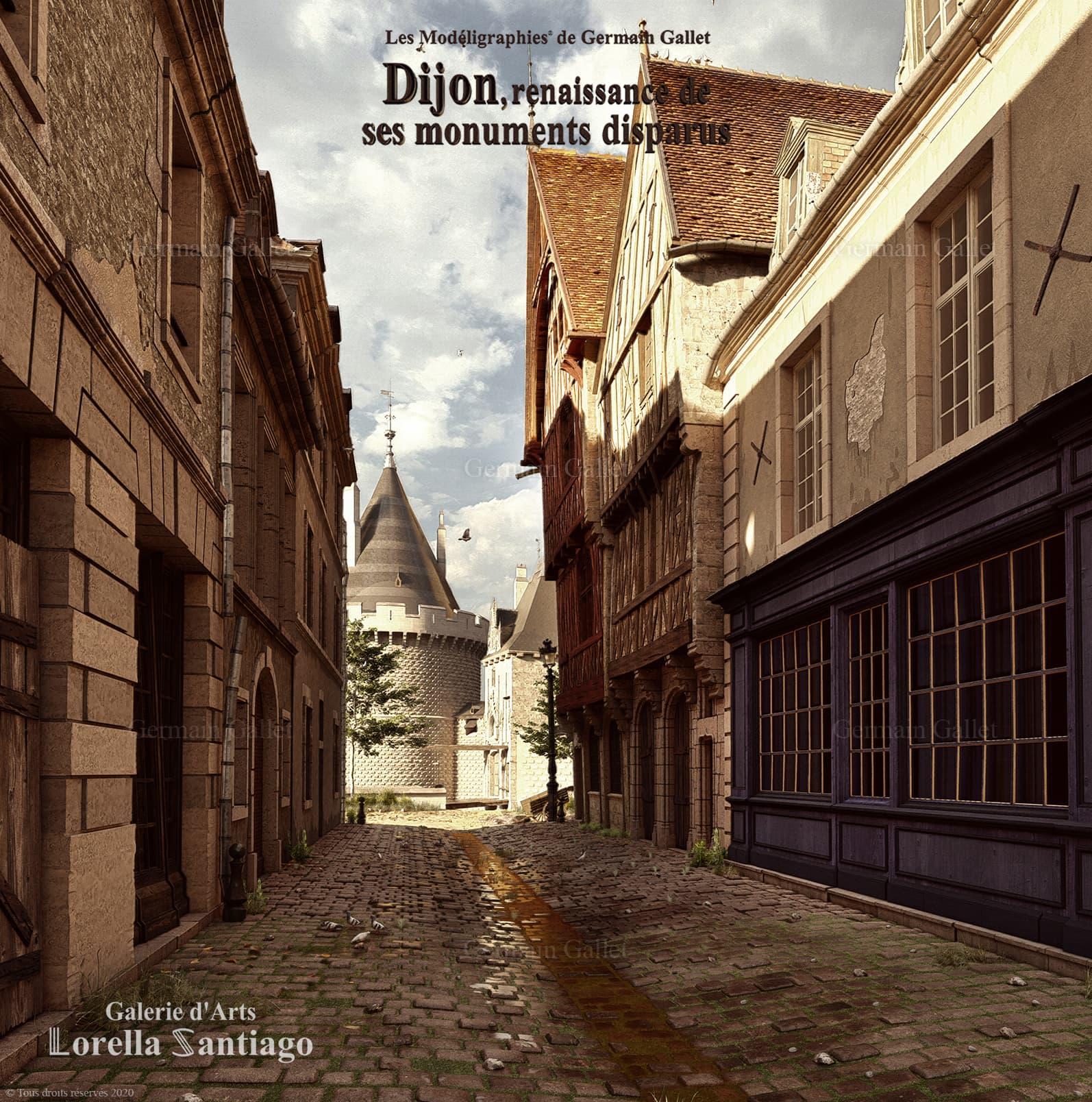 Le château de Dijon