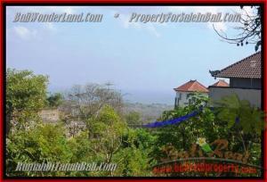 JUAL TANAH MURAH di JIMBARAN BALI 750 m2  View laut Lingkungan villa