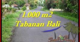 TANAH di TABANAN DIJUAL Untuk INVESTASI TJTB243
