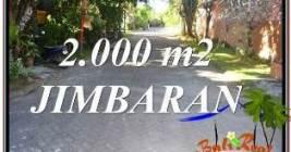 DIJUAL MURAH TANAH di JIMBARAN BALI 2,000 m2 di Jimbaran Uluwatu
