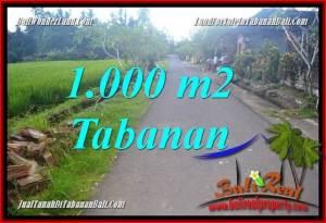 JUAL TANAH di TABANAN BALI Untuk INVESTASI TJTB363