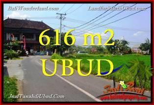 TANAH JUAL MURAH UBUD 616 m2 View Sawah link Villa