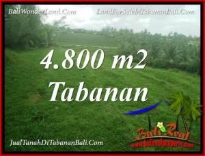 DIJUAL TANAH MURAH di TABANAN 48 Are di TABANAN SELEMADEG