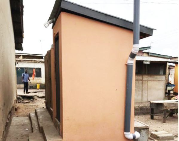 TOILETS IN THEIR HOMES