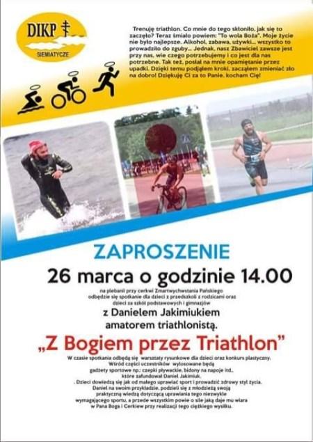 Zaproszenie spotkanie Triathlon(1)