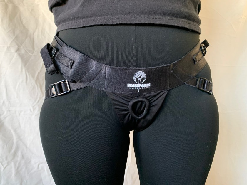 Front view of SpareParts Joque harness.