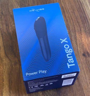 We-Vibe Tango X vibrator box