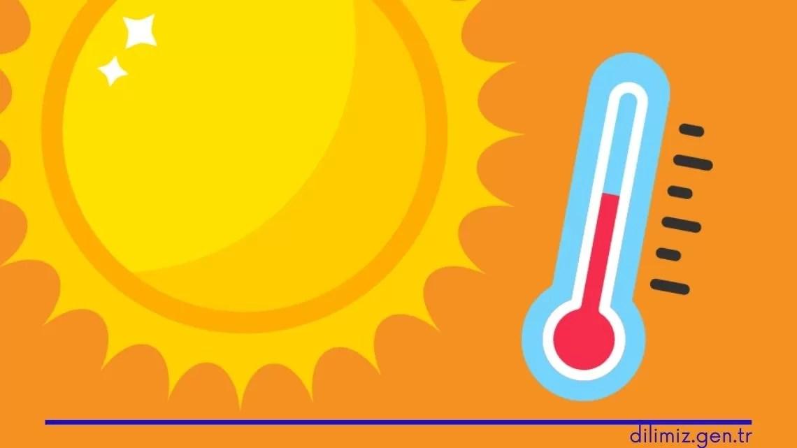 ısı ve sıcaklık farkları konu anlatımı