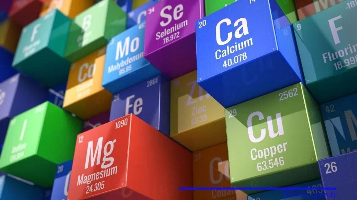 Elementlerin Sınıflandırılması Süreci 8. Sınıf