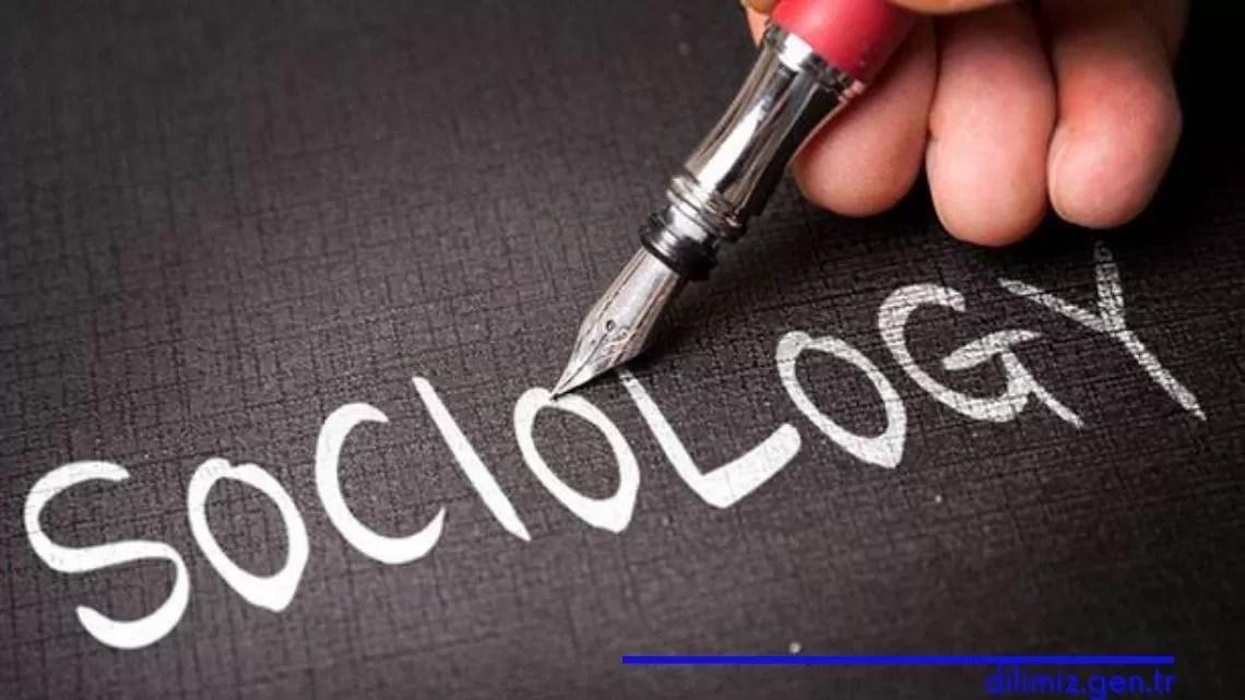 Sosyolojinin bağımsız bir bilim haline gelişi
