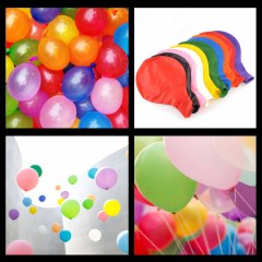 Good Quality 100 Balloons Packet