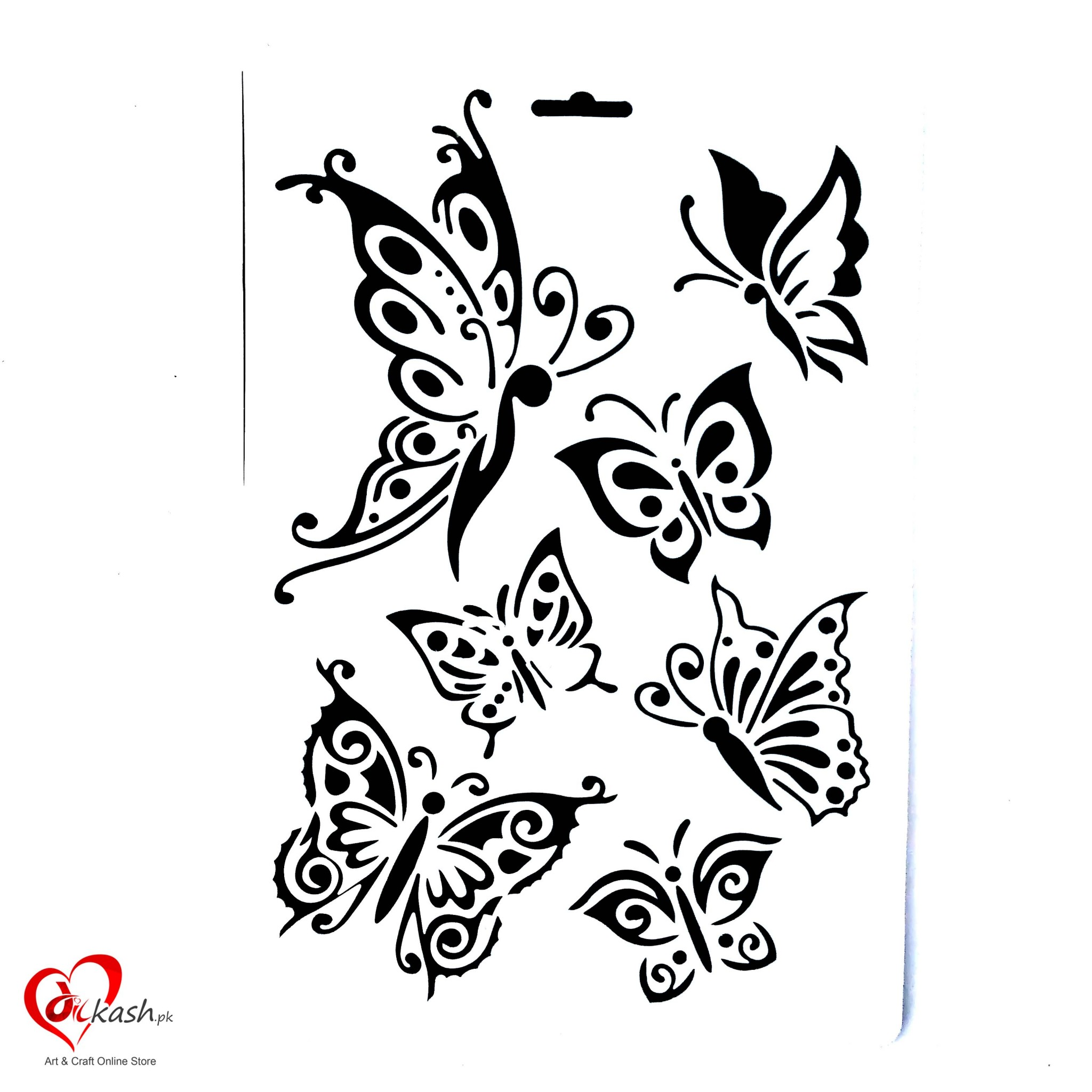 8x12 Inches Wall Stencils For Painting Designs