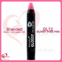 Beautiful Lipstick - Nabi Glossy Lip Color - GL12 Glossy Pure Pink