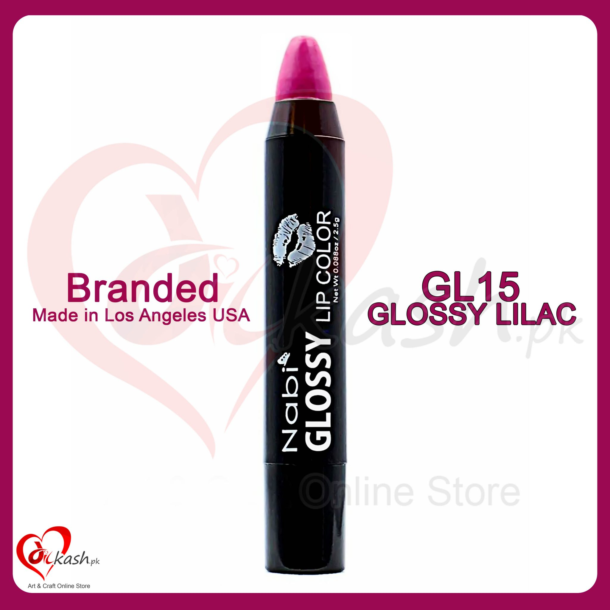 Beautiful Lipstick - Nabi Glossy Lip Color - GL15 Glossy Lilac