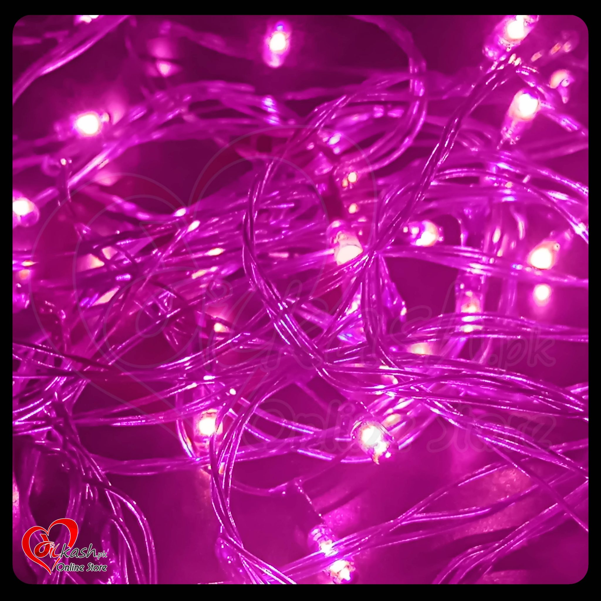 Fairy Lights Decoration LED Still – Christmas Lights – 25 Feet Long – Purple