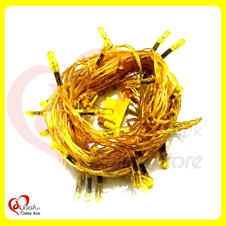 Fairy Lights Decoration LED Still - Christmas Lights - 25 Feet Long - Yellow