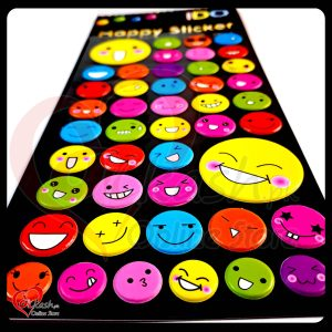 Stickers Online Smile Face - Emoji Happy Sticker - ACC-013