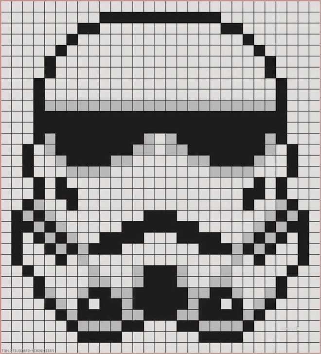 Star Wars Darth Maul Hama Perler Beads Bugelperlen Star Wars